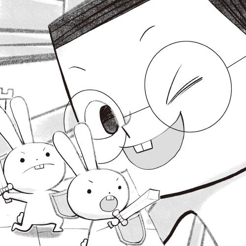 金兔與黑兔的戰爭(上)